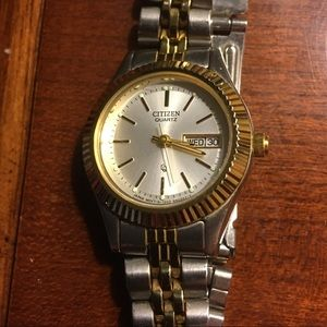 Citizen Silver and Gold Watch